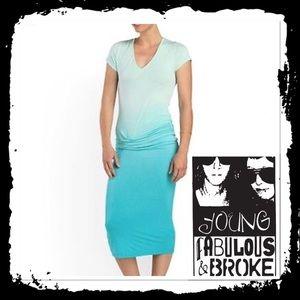 Young Fabulous & Broke Araya Midi Dress